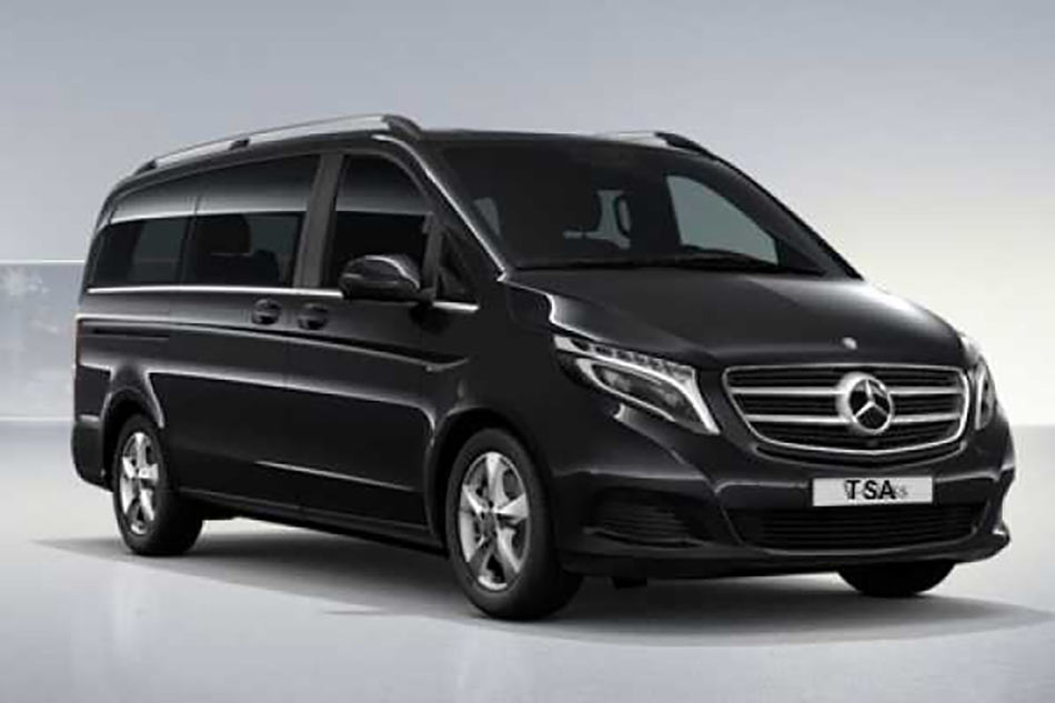 Minibus Shuttle Taxi Transfer from the Venice Airport Marco Polo